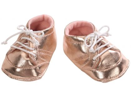 Baby Annabell Botičky 794579 - Zlaté s tkaničkou