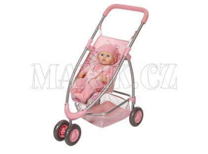 Baby Annabell Moderní tříkolový kočárek