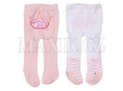 Baby Annabell Punčocháče 2 páry - Růžové