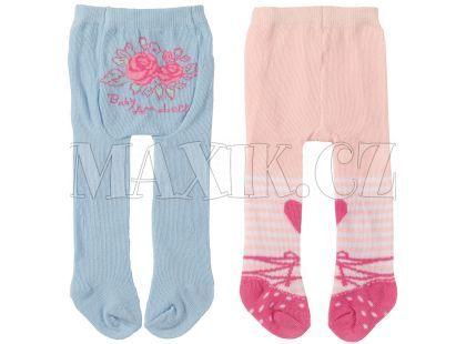 Baby Annabell Punčocháče 2ks - Modré a světle růžové