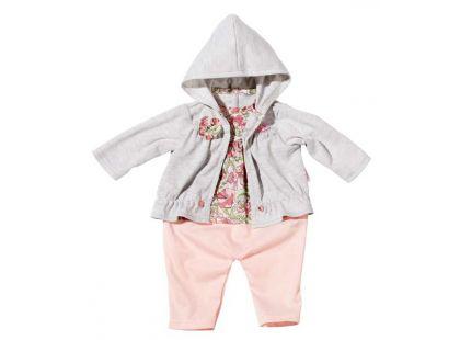 Baby Annabell Šatičky na ramínku - Blůza šedá