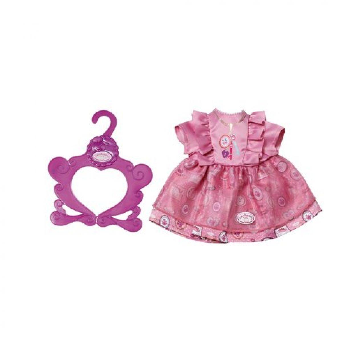 Baby Annabell Šatičky s ramínkem Světle fialové Klíče