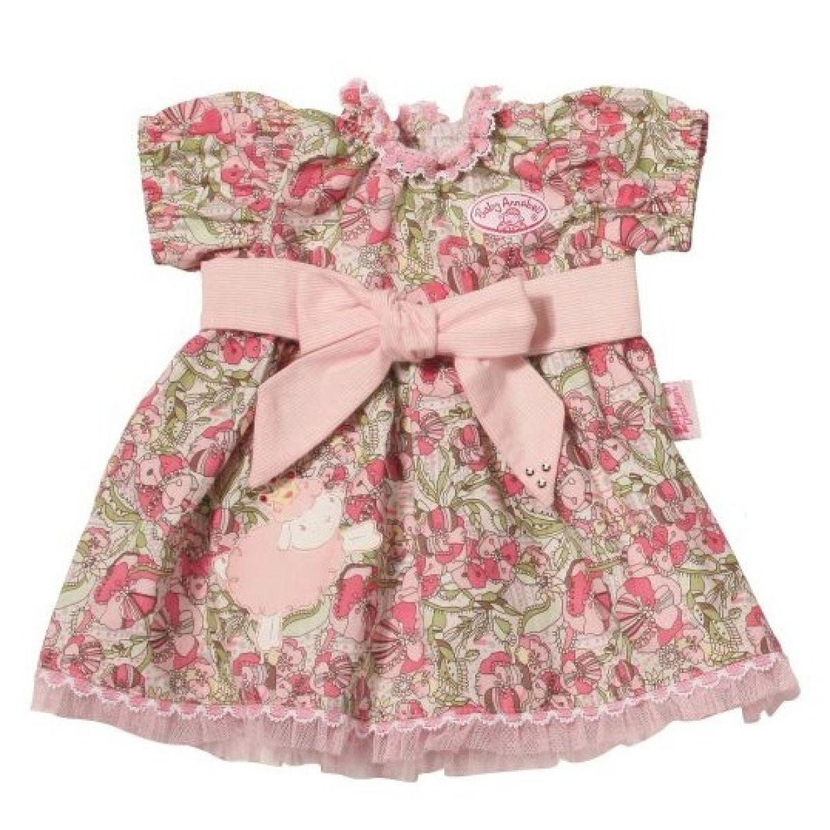 Baby Annabell Šaty - Květované