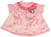 Baby Annabell Šaty se vzorem - Růžová mašle