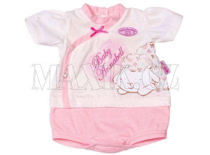 Baby Annabell Spodní prádlo 792278 - Růžovo-bílá