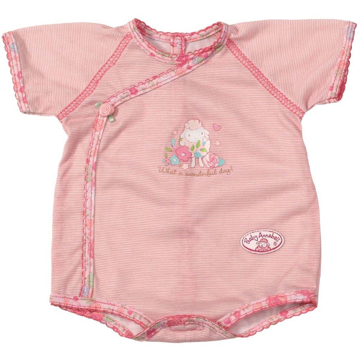 Baby Annabell Spodní prádlo - Růžová s pruhy