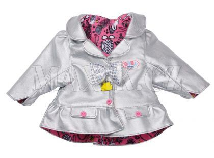 Baby Born Bundičky 820360 - stříbrná