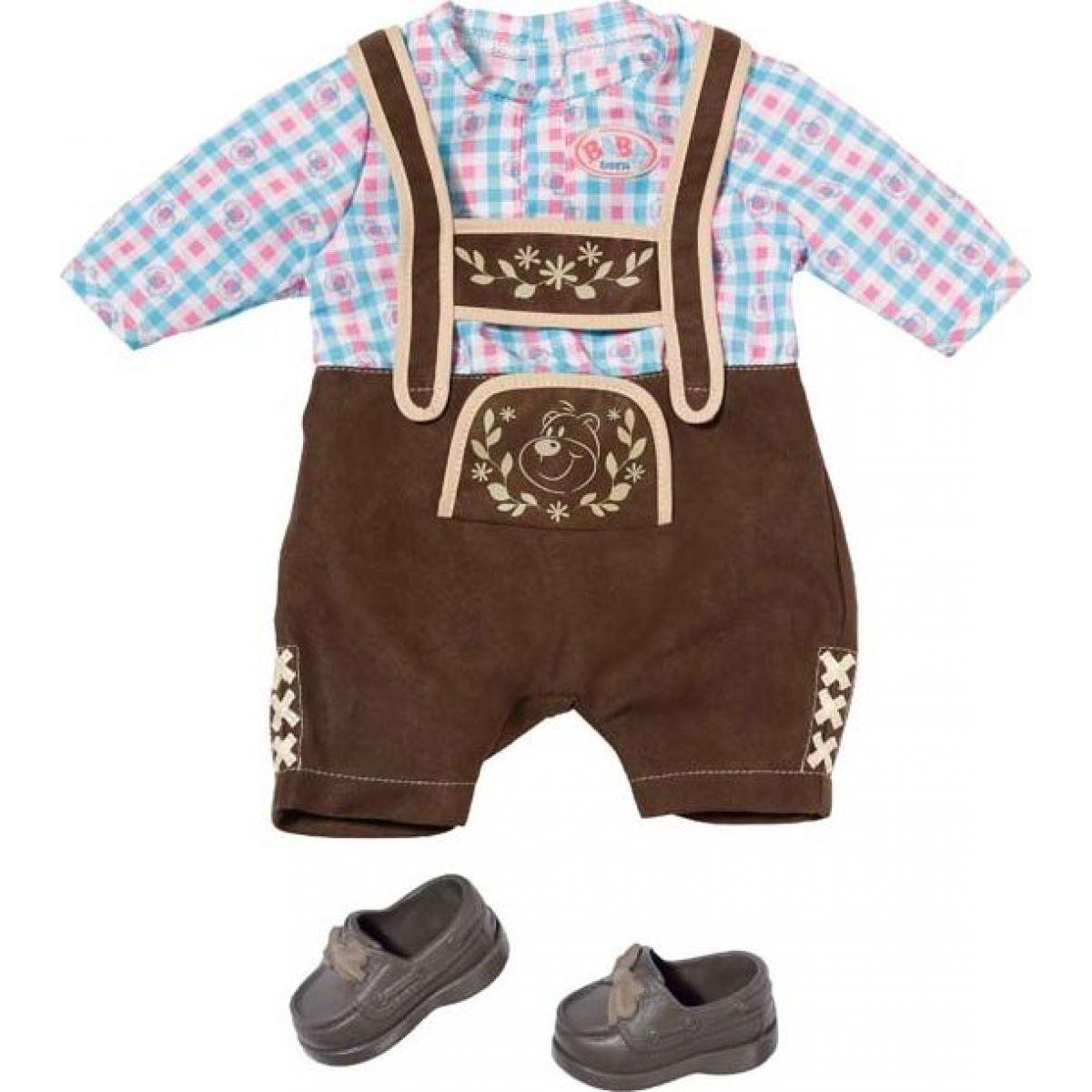 Zapf Creation Baby Born Chlapecký kroj