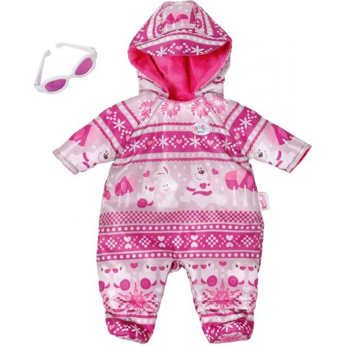 Zapf Creation Baby Born Deluxe zimní souprava