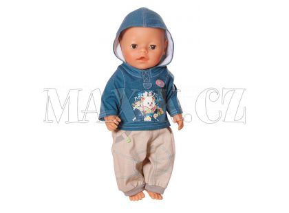 Baby Born Džínové oblečení pro chlapečka 817629 - Méďa