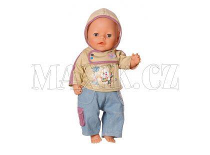 Baby Born Džínové oblečení pro chlapečka 817629 - Pejsek