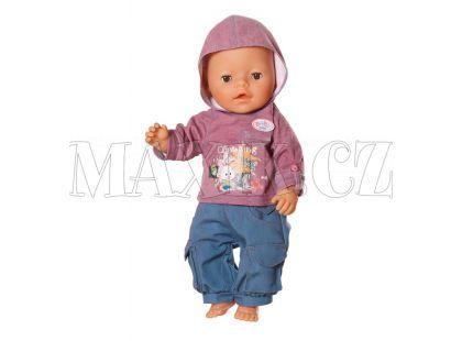 Baby Born Džínové oblečení pro chlapečka 817629 - Zajíček