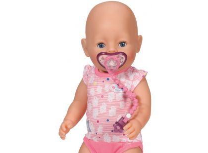 Baby Born Dudlík se sponkou - Růžová