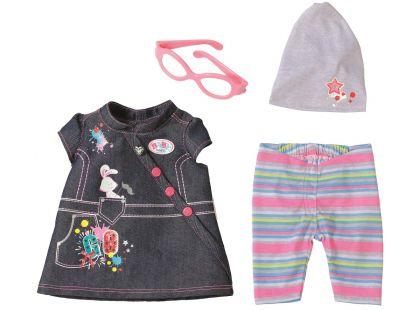 Baby Born Džínová souprava - Džínové šaty