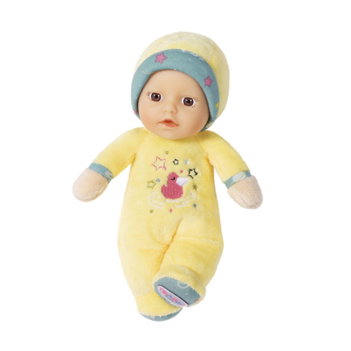 Zapf Creation BABY born for babies, Mazlíček 18 cm Žlutá