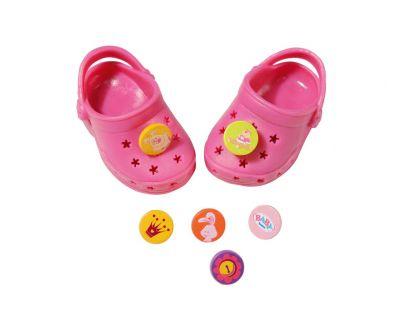 Baby Born Gumové sandálky - Růžová tmavá