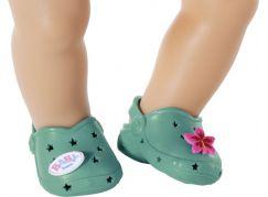 BABY born Gumové sandálky, 4 druhy, 43 cm zelené