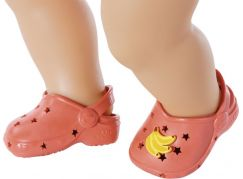BABY born Gumové sandálky, 4 druhy, 43 cm červené