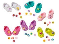 Baby Born Gumové sandály - Svítivě oranžová
