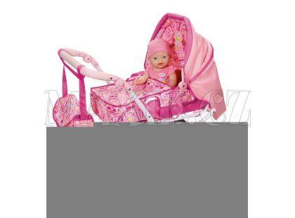 Baby Born Hluboký kočárek 3v1