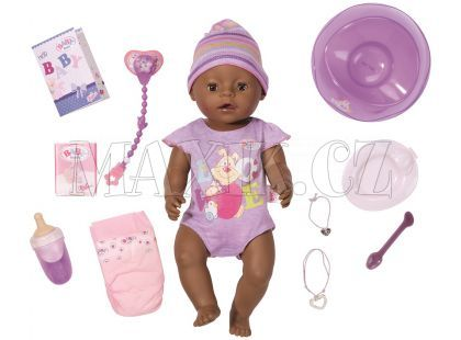 Baby Born Interaktivní panenka černoušek