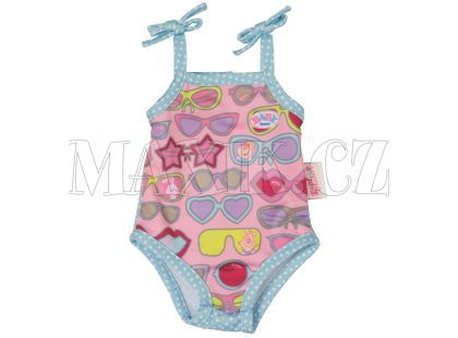 Baby Born Jednodílné plavky - S brýlemi