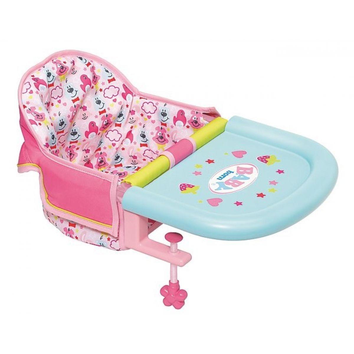 Zapf Creation Baby born Jídelní sedačka s uchycením na stůl