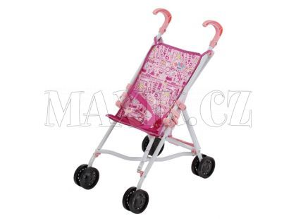 Baby Born Kočárek hole růžový