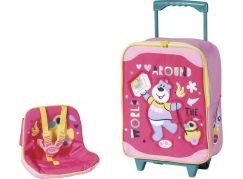 Zapf Creation Baby born Kufřík se sedačkou pro panenky