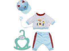 BABY born Little Sportovní oblečení modré, 36 cm
