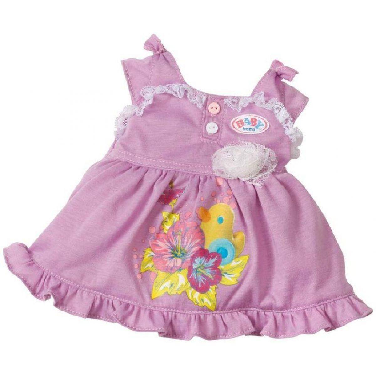 Baby Born Oblečení - Fialové s kachničkou