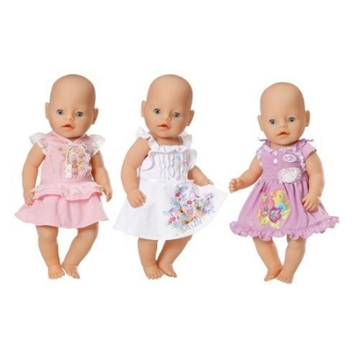 Baby Born Oblečení - Fialové s kachničkou #2