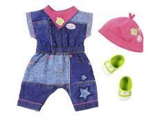 Baby Born Oblečení Džínová souprava Overal - Šaty