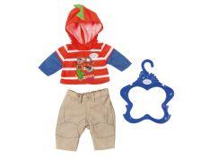 Baby Born Oblečení na chlapečky hnědé kalhoty
