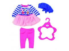 Baby Born Oblečení Šatičky s čepičkou Pruhované