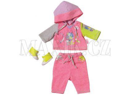 Baby Born Oblečení na jogging - Růžová - Poškozený obal