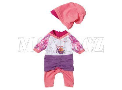 Baby Born Oblečení s čepičkou - Fialová sukně