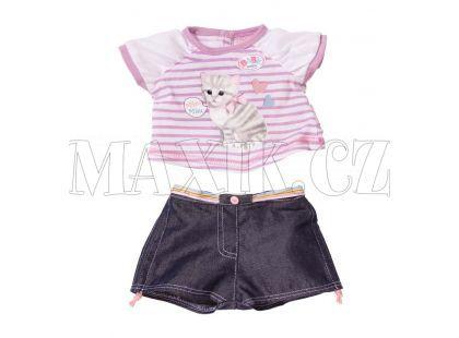 Baby Born Oblečení se zvuky zvířátek - Kočka