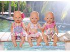 Baby Born Plavky - Jednodílné pruhované 3