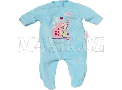 Baby Born Sametový overal - Modrá