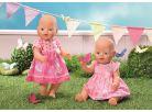 Baby Born Šaty - Tmavě růžové puntíky 3
