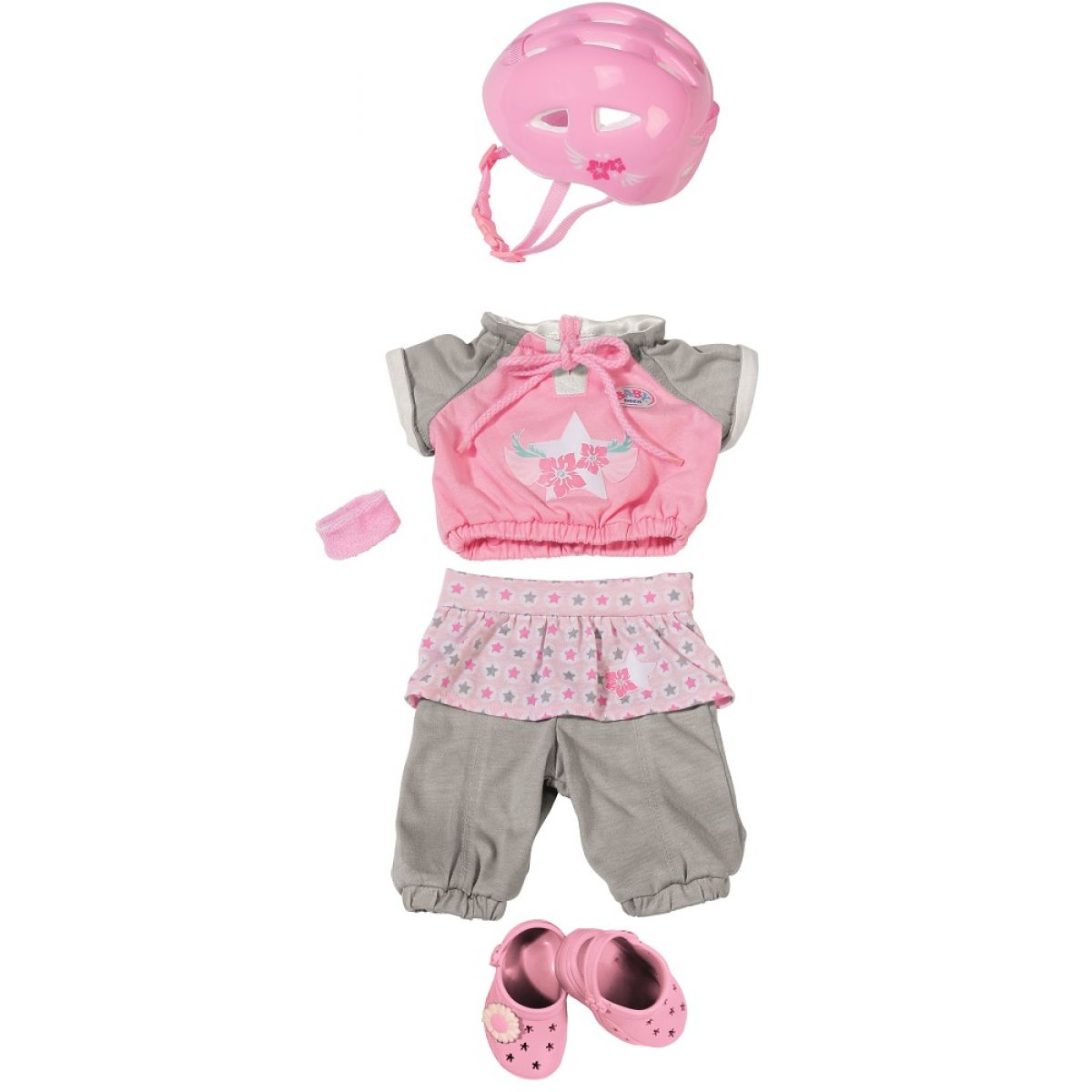 Baby Born Souprava oblečení s přilbou Deluxe