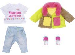 BABY born Souprava s barevným kabátem Deluxe, 43 cm