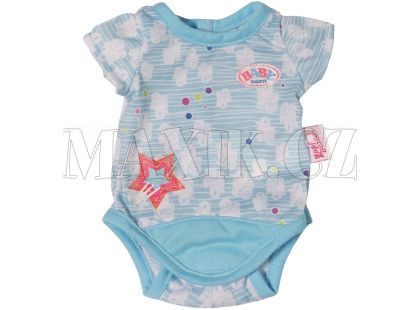 Baby Born Spodní prádlo Body - Modrá