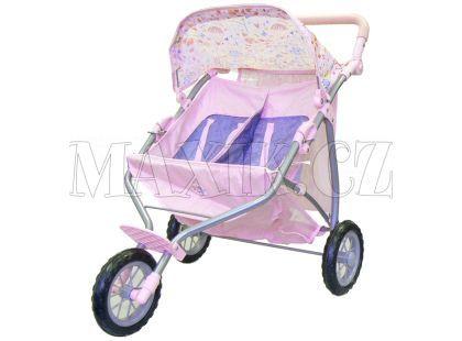 Baby Born Tříkolový kočárek pro dvojčata 817506