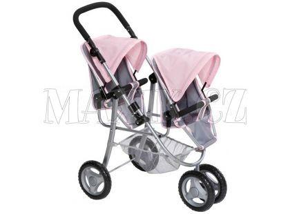 Baby Born Tříkolový kočárek pro dvojčata Jogger