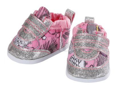 Baby Born Trendy botičky - Stříbrná
