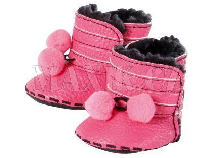 Baby Born Zimní botičky - Růžová