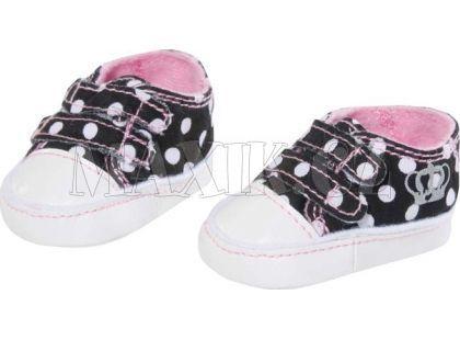 Baby Born Zimní botičky 816806 - S puntíky