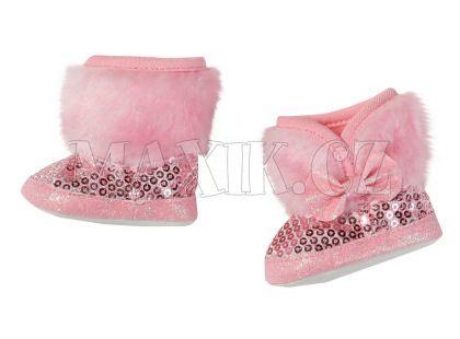 Baby Born Zimní boty - Růžová